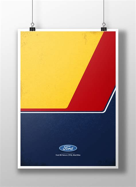 Tall Hutch Five Minimalist Posters Of Famous Tv Movie Cars Stay