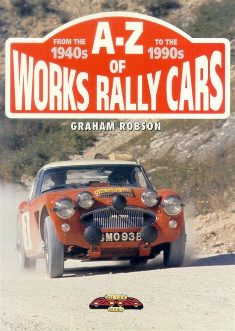 books about cars and how they work 1994 suzuki sj regenerative braking books on rallying vintagerally com