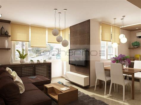 Wohnzimmer Ideen by Acherno Moderne Apartment Raumgestaltung In Dezenten Farben
