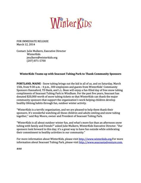 Simple Press Release Template by News Release Format Template Business