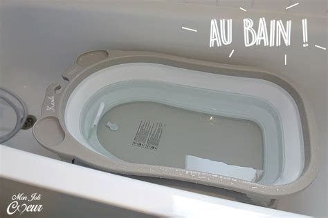 mon joli ma baignoire pliable ultra compacte
