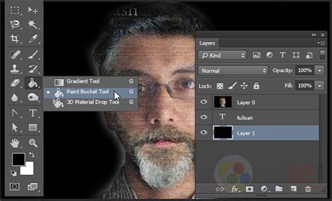 tutorial membuat typography wajah dengan photoshop cara membuat typography wajah dengan photoshop video