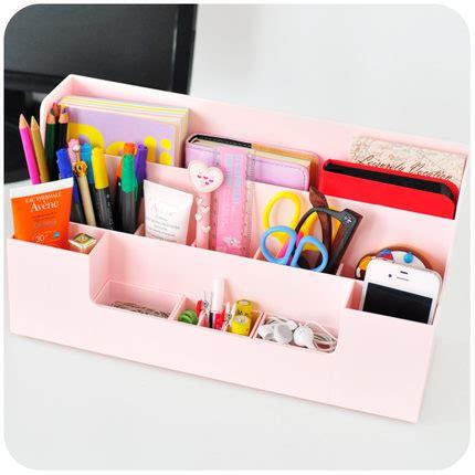 Office Desk Stationery Office Desk Stationery Holder Multifunction Plastic Desktop Organizer For Desk Accessories