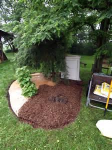 mulch flower bed crowdbuild for
