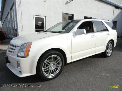 2008 cadillac srx for sale 2008 cadillac srx 4 v6 awd in white tricoat
