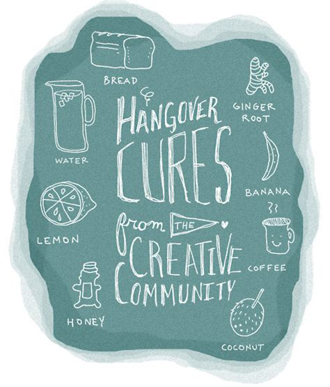 hangover cures tips from the creative community design