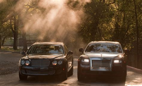 bentley rolls royce luxury cars bentley continental gt vs rolls royce phantom