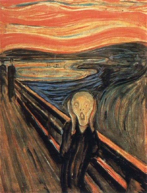 E Painting Meaning by What Was The Meaning Gogh Painting The Scream