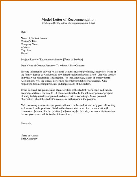 samples of letters recommendation social work letter sample employer
