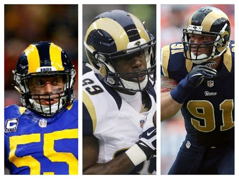 rams cook rams release laurinaitis los angeles