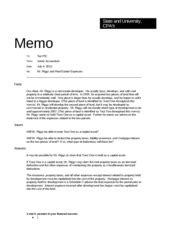 tax memo template memo format state and cpas memo to tax pic