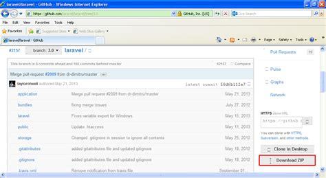 laravel tutorial for beginners windows setup steps laravel 3 development environment