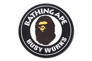 Purple Circle Rug A Bathing Ape Busy Works Rubber Coaster Hypebeast