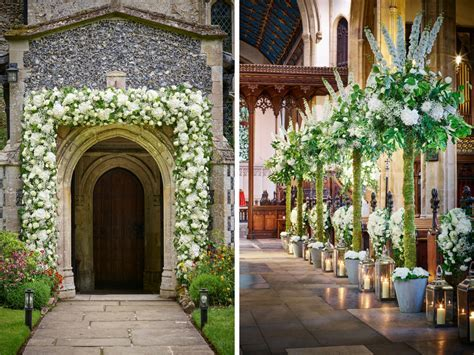 10 Ways to Decorate Your Wedding Venue With Flowers