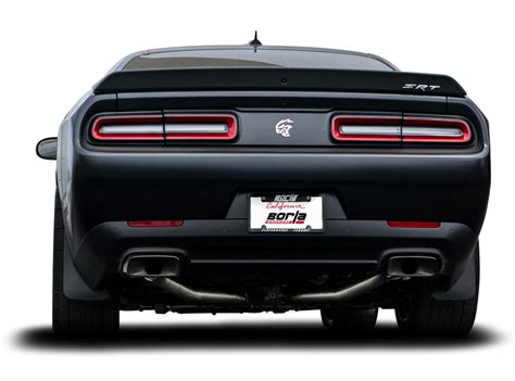 dodge exhaust tips challenger hellcat exhaust systems performance cat back