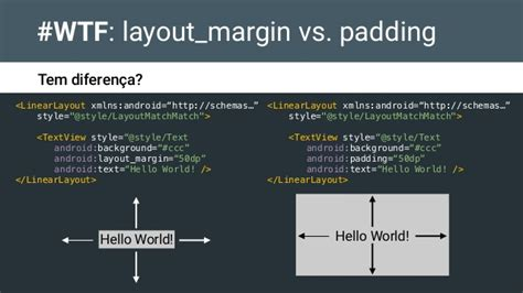 android layout margin padding android com estilo gdg dev fest 2015