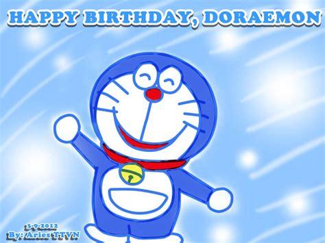 doodle happy birthday doraemon happy birthday doraemon by torikachi1704 on deviantart
