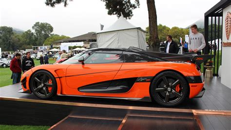 koenigsegg orange koenigsegg agera xs in bright orange fury at quail