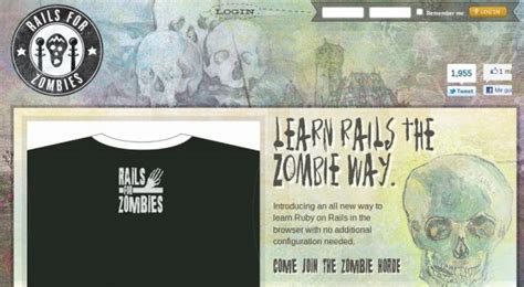 zombie tutorial ruby railsforzombies um tutorial online de ruby on rails no