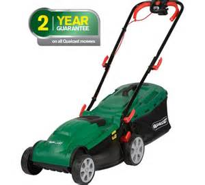 argos lawn mowers and strimmers buy qualcast corded rotary lawnmover 1400w at argos co