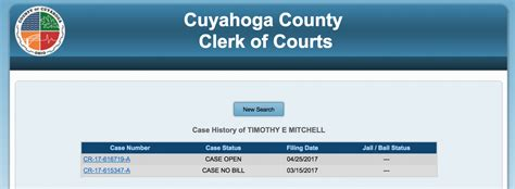 Cuyahoga Clerk Of Courts Search The Shakerite In Second Ruling Grand Jury Indicts Mitchell