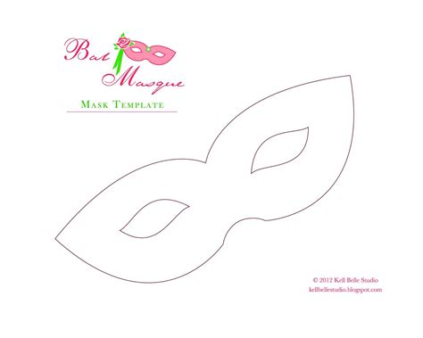 mask template free mardi gras mask template free paper mask template