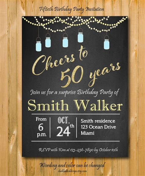 free 50th birthday card template free 50th birthday invitation orderecigsjuice info