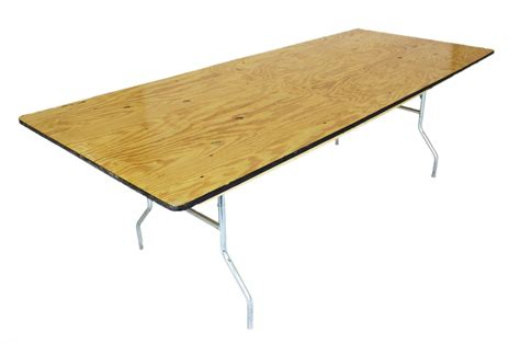 Banquet Table 8 X 40 Wide United Rent All Omaha