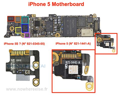 iphone board layout new iphone 5s component leaked photos iclarified