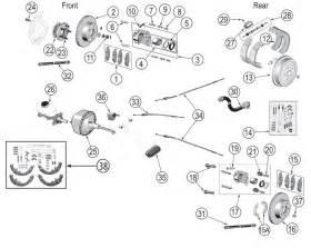 Jeep Wrangler Brake System Diagram Jeep Wrangler Tj Brake Parts 97 06 Quadratec