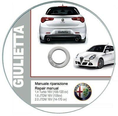 Alfa Romeo Giulietta 2010 13 Handbuch Technisch Und