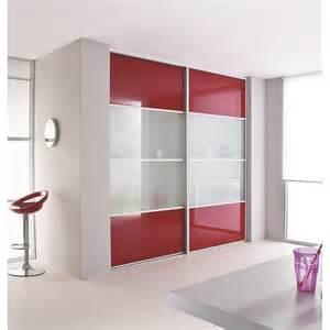 portes de placard coulissante verre laqu 233 et vitre