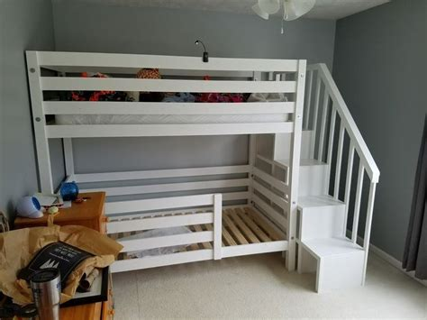 girl bunk beds with stairs 436 best images about kids bedroom tutorials on pinterest home projects loft beds and toddler bed