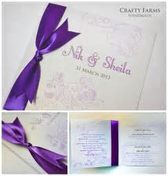 wedding card malaysia crafty farms handmade april 2013