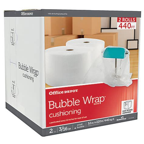 office depot brand roll 316 thick clear 12 x 220