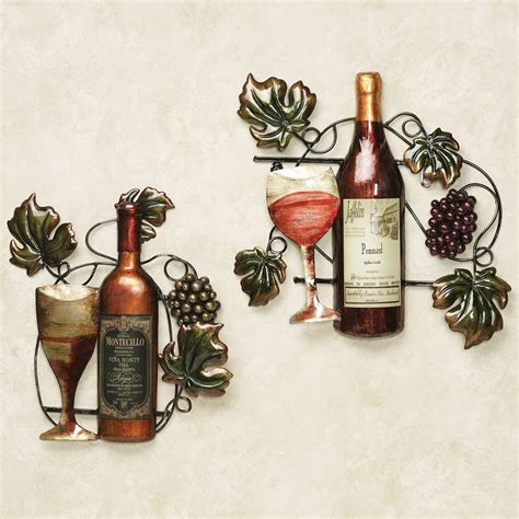Wine Decorations For The Home | kitchen accessories grapes home decoration club