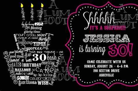 template for 30th birthday invitations 40th birthday ideas 30th birthday invitations templates free printable