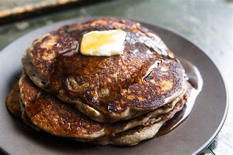 Buckwheat Pancake buckwheat pancakes recipe simplyrecipes