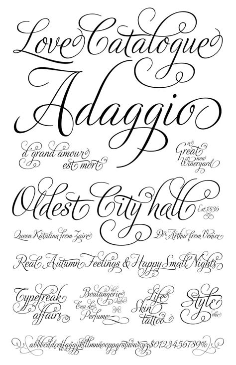 tattoo fonts romantic 25 best ideas about fonts on cursive