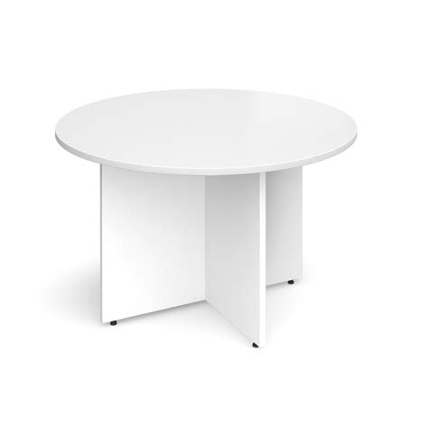 White Boardroom Table Boardroom Table Circular 1200mm White Www Eliteofficesuppliesltd Mailroom Warehouse