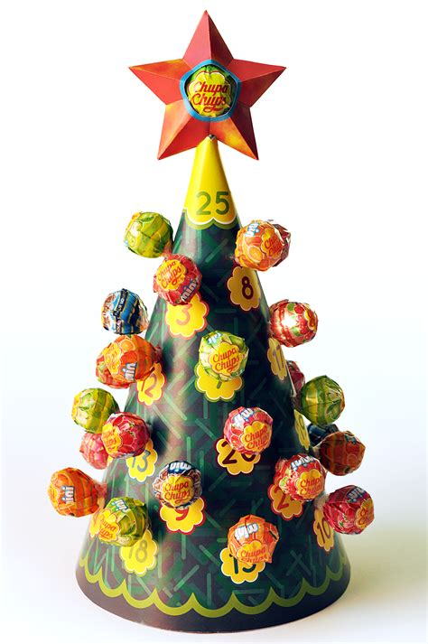 advent calendar christmas lollipop tree dougie scott