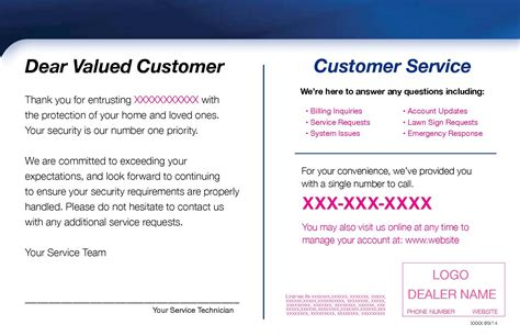 customer thank you card template alarm capital