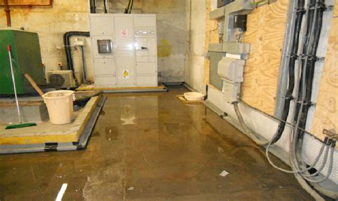 dangers of a flooded basement icezen