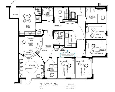 dental clinic floor plan design family and general dentistry floor plans office plans