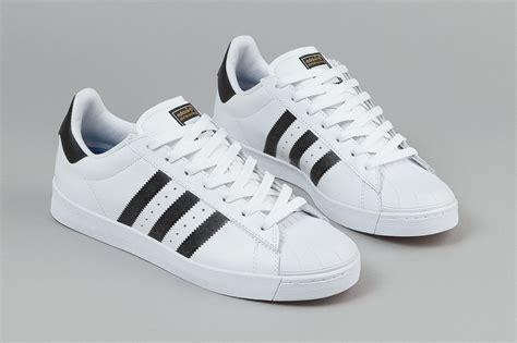 Adidas Superstar by Adidas Superstar Vulc Adv White Black Sneaker Bar Detroit