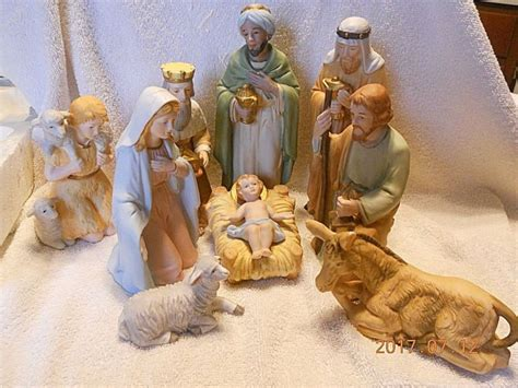 Home Interiors Nativity Set by Homco Nativity Shop Collectibles Online Daily