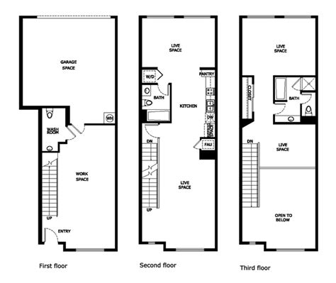 stadium lofts anaheim floor plans santiago street lofts plan 2