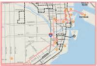 Miami Trolley Map by City Of Miami Official Website