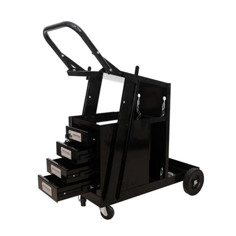 Mig Welding Cart With Drawers by Welder Cart Welding Trolley With 4 Drawers Welder Storage