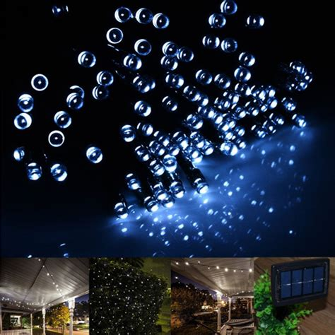 20m 100 led 30m 200 led solar fairy string lights